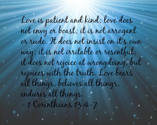 1 Corinthians 13-407
