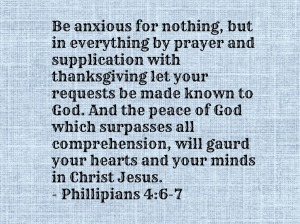 Phillipians 4-6-7