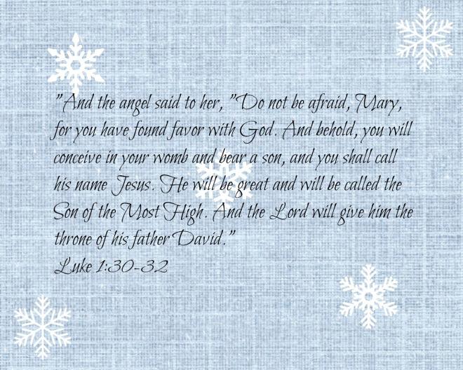 Luke 1-30-32