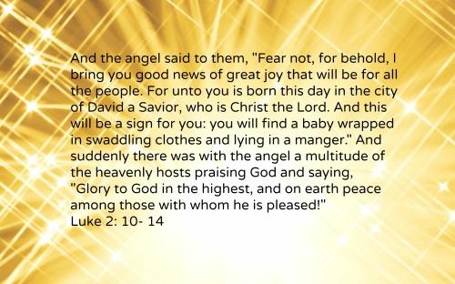 Luke 2-10-14