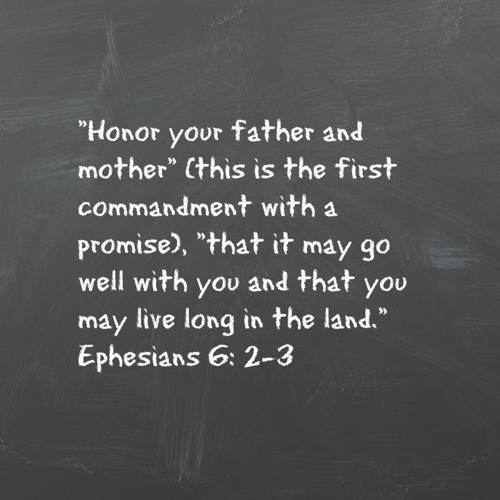 Eph 6 2-3