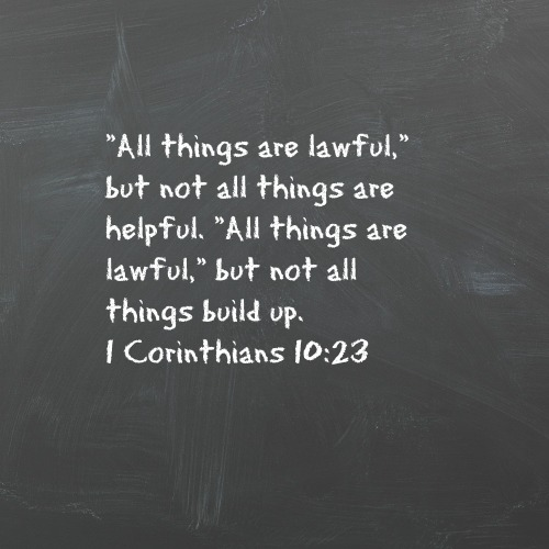 1 Cor 1023