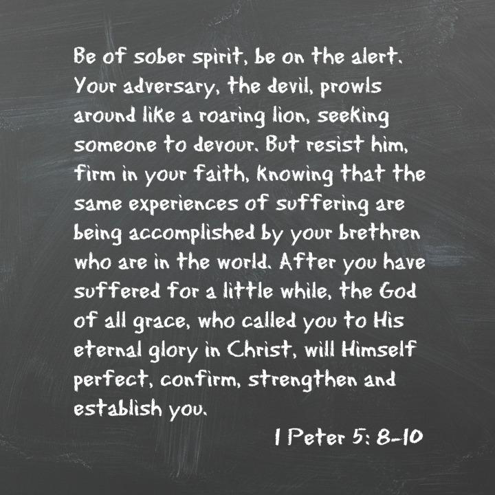 1 Peter 5:8-10