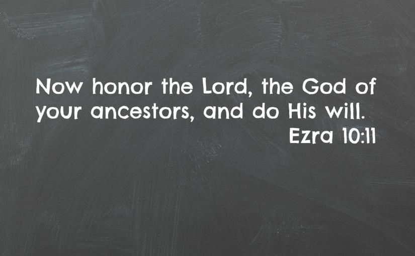 Ezra 10:11