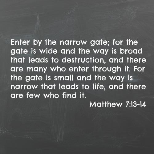 matt 713-14