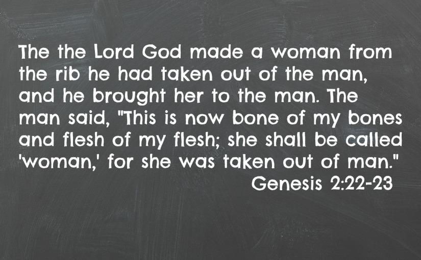 Genesis 2:22-23