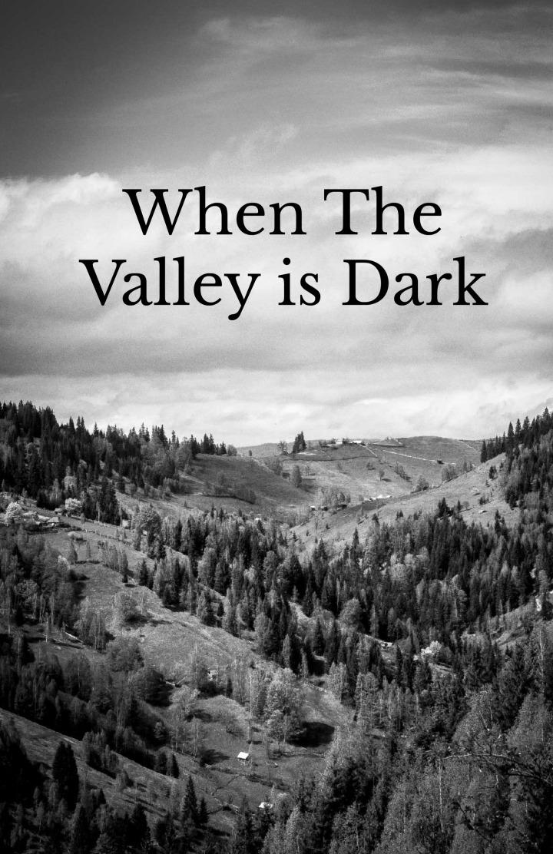 Anxiety: When The Valley IsDark
