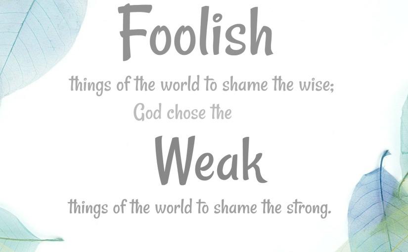 1 Corinthians 1:27